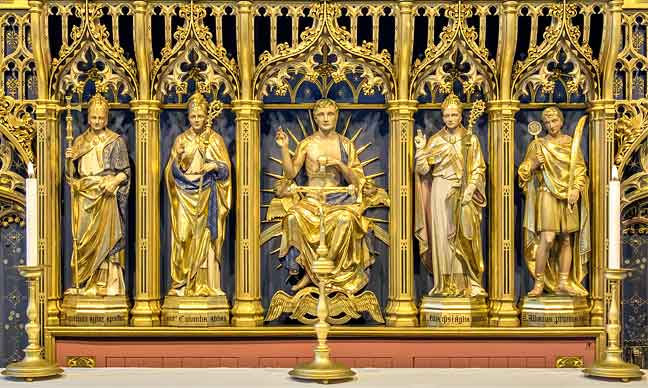 The reredos, St Peter Mancroft